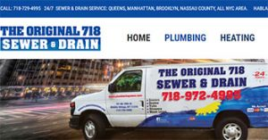 The Original 718 Sewer & Drain Cleaners